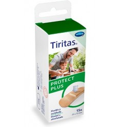 TIRITAS PROTECT PLUS 15 UDS 25 X 72 MM