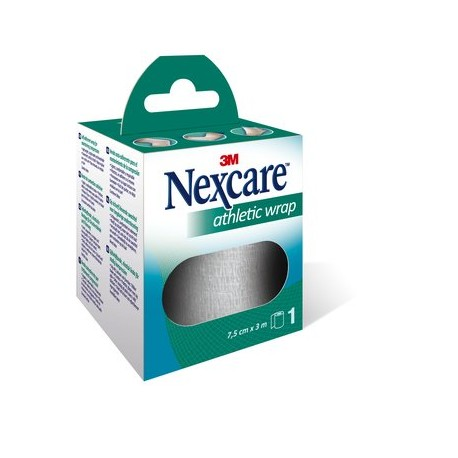 3M NEXCARE ATHLETIC WRAP REF N1675W 3M X 7.5 CM