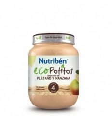 NUTRIBEN ECO SELECCION PLATANO Y MANZANA POTITO INICIO 130 G