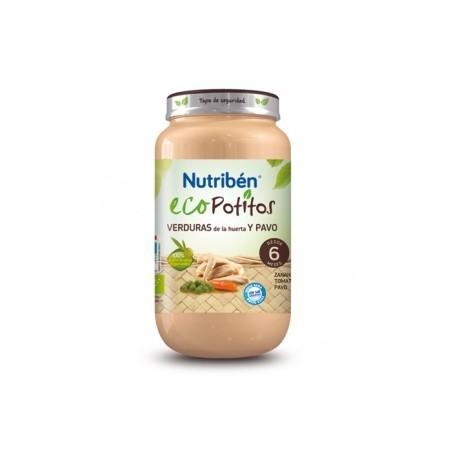 NUTRIBEN ECO VERDURAS PAVO POTITO GRANDOTE 250 G