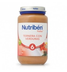 NUTRIBEN JR TERNERA VERDURAS 250 GR