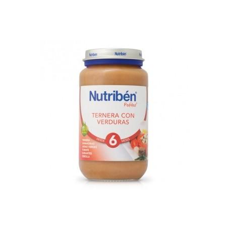 NUTRIBEN JR TERNERA VERDURAS 250 GR