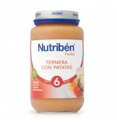 NUTRIBEN JR TERNERA PATATAS 250 GR