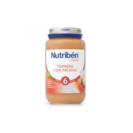 NUTRIBEN JR TERNERA PATATAS 250 GR