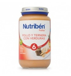 NUTRIBEN JR POLLO TERNERA VERD 250 GR