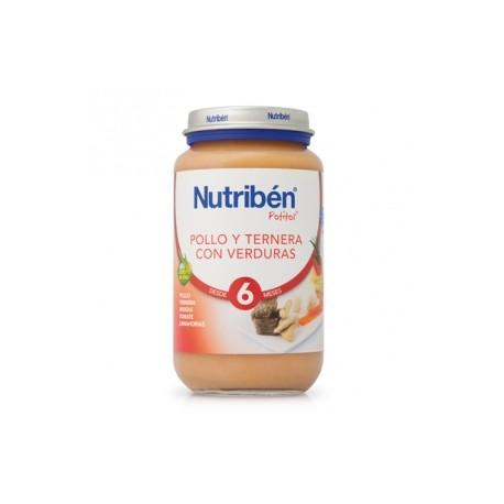 NUTRIBEN JR POLLO TERNERA VERD 250 GR