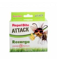 REPEL BITE ATTACK PULSERA AROMATICA CITRONELA RECARGA 2 PASTILLAS