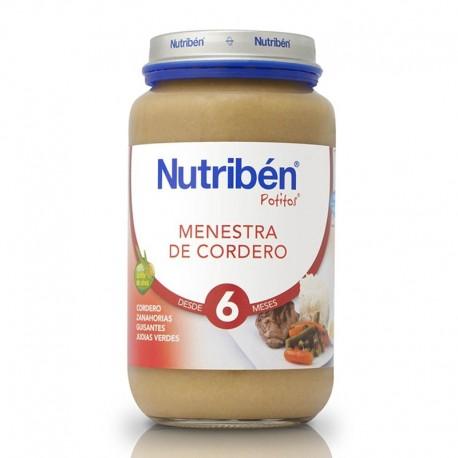 NUTRIBEN JR MENESTRA CORDERO 250 GR