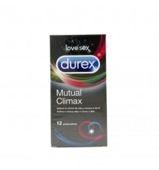 DUREX CLIMAX MUTUO PRESERVATIVOS 12 U