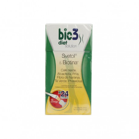 BIE 3 DIET SOLUTION 24 SOBRES SOLUBLES