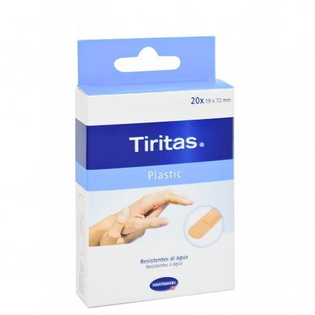 TIRITAS 19 X 72 MM PLASTIC 20 UNIDADES