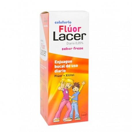 FLUOR DIARIO 500 ML FRESA LACER