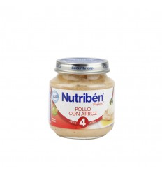 NUTRIBEN BEBE POLLO ARROZ 130 GR