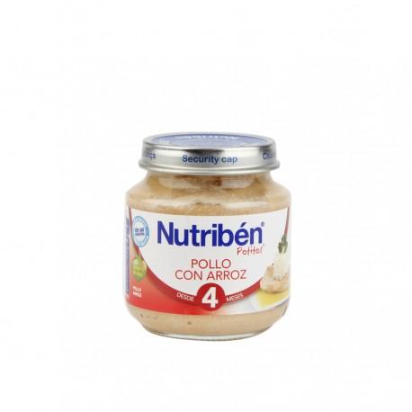 NUTRIBEN BEBE POLLO ARROZ 130 GR