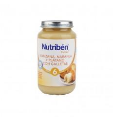NUTRIBEN MANZANA NARANJA PLATANO 260 GR