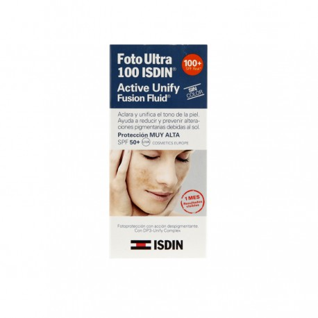FOTOULTRA 100 ISDIN ACTIVE UNIFY S/COL