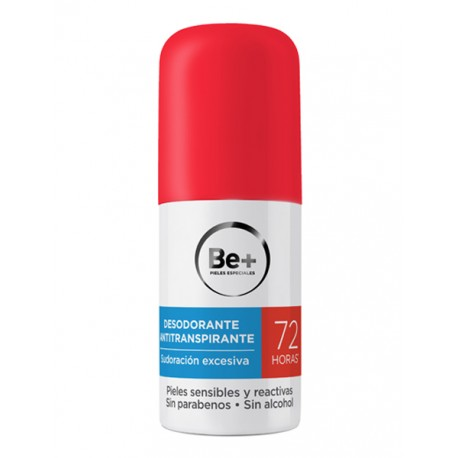 BE DESODORANTE ANTITRANSPIRANTE 72 H 50 ML