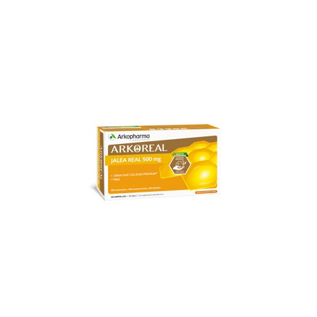 JALEA REAL ARKO 500 MG 20 AMPOLLAS